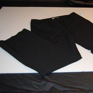Michael Kors Women's Dress Pants Black S14